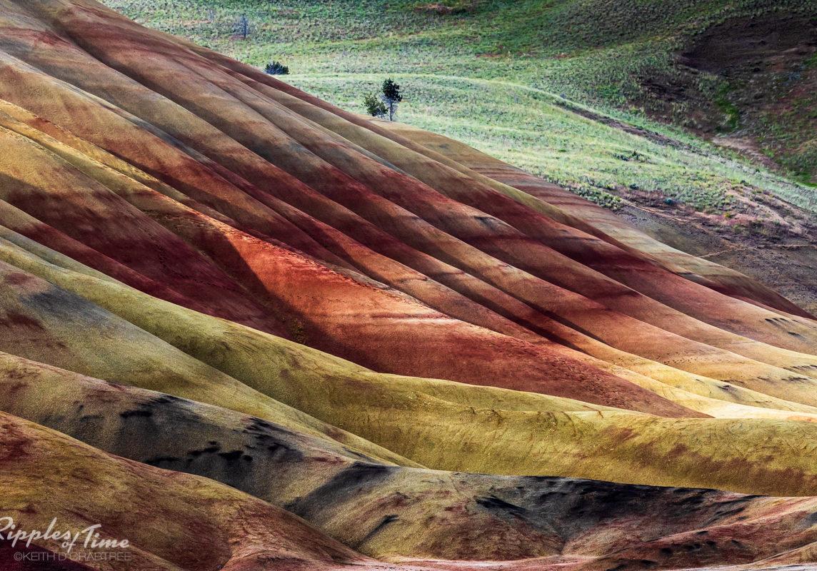 Painted Hills, Oregon Close up 400mm